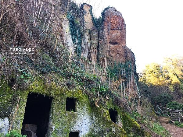 roccia fallica corchiano fescennium